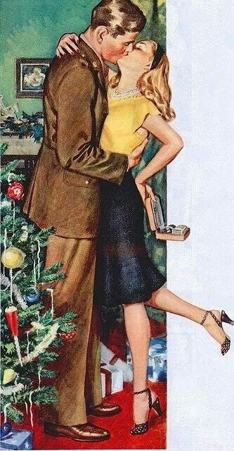1940s WWII Christmas :)