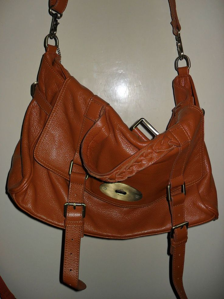 Belle & Bloom Genuine Leather Satchel/ Handbag/ rucksack - EUC