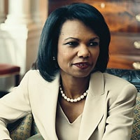 This photo of Dr. Condoleeza Rice really illustrates her elegance, poise and professionalism. I've never seen a Liberal woman carry herself with the like.