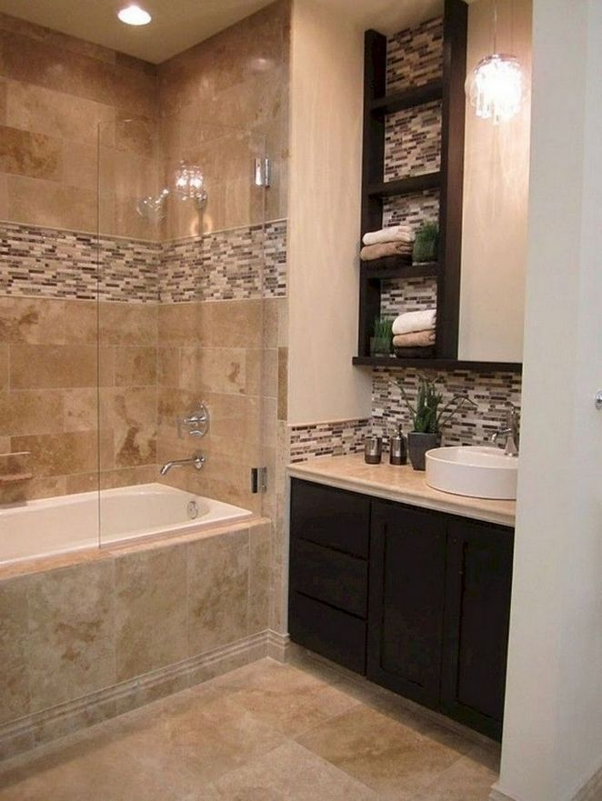 40 The One Thing To Do For Bathroom Remodel Brown Diseno Banos
