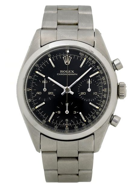 cheap for discount c73f0 bb370 Pre-Daytona Rolex Chronograph ref. 6238 with black dial ...
