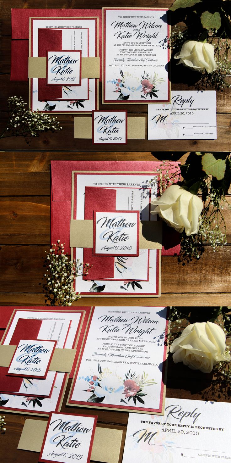 19 best Rustic Wedding Invitations images on Pinterest | Belly bands ...