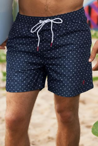 Navy men's swimshorts £14 Next