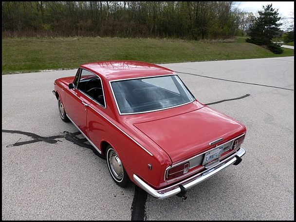1969 Toyota Corona Hardtop 1900 CC, 4-Speed presented as lot W332 at Indianapolis, IN 2012 - image2