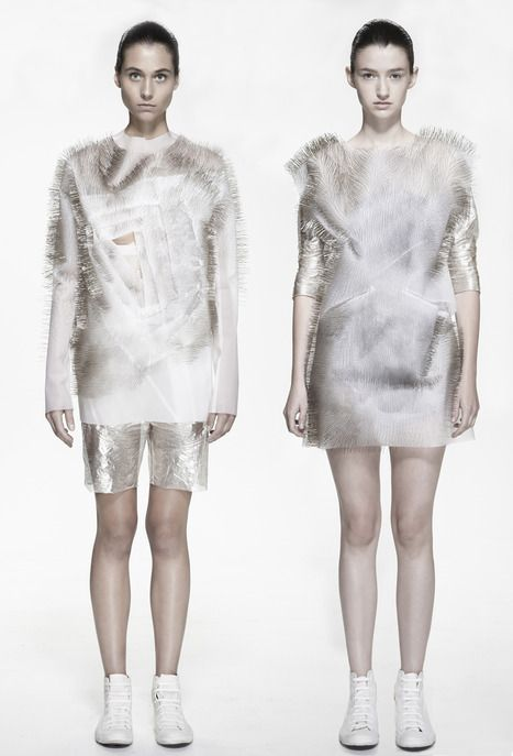 INCERTITUDES SOUND ACTIVATED CLOTHING BY YING GAO via @missmetaverse www.futuristmm.com