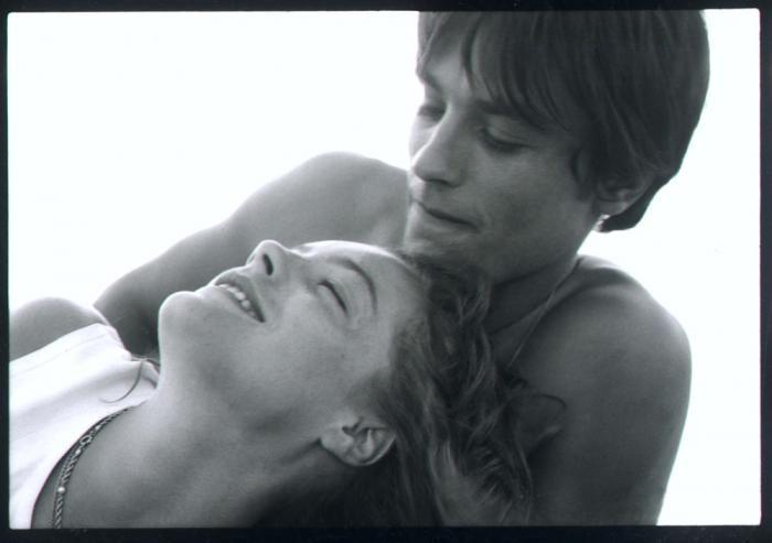 Romy Schneider & Alain Delon – 1962 (Photographer: Bert Stern)