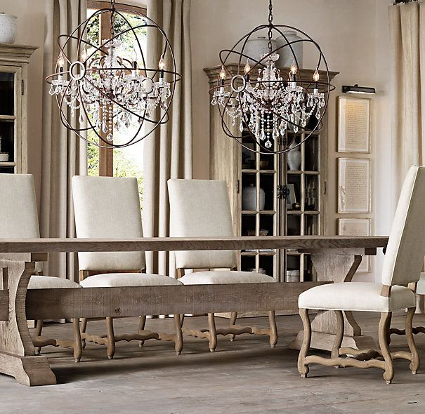 Best 25 restoration hardware dining table ideas on for Restoration hardware dining room ideas