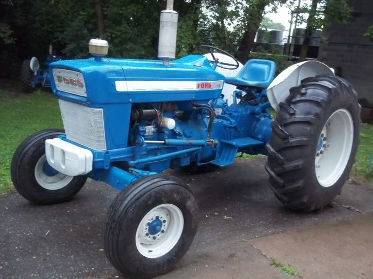 Old Ford Diesel Tractors : Best images about ford tractors on pinterest old