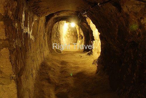 Cappadocia Derinkuyu Underground City, Turkey