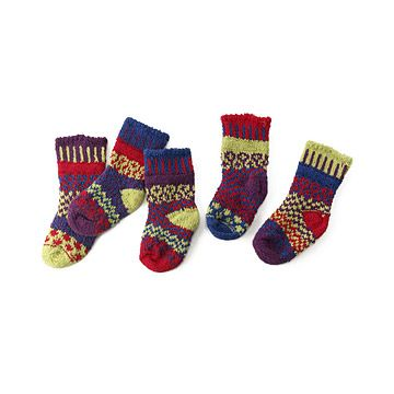 Look what I found at UncommonGoods: Baby Dragonfly Mismatched Sock Set for $17 #uncommongoods