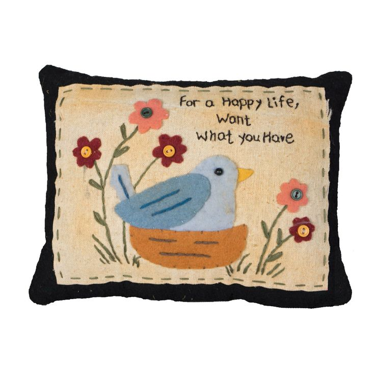 Pin By Storytelling On Happy Fabric: Fabric Pillow Filled With Poly