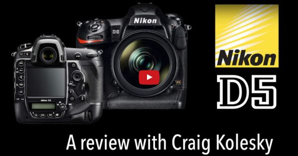Nikon D5 Hands-on Review | Is Nikon's D5 the ultimate sports and action DSLR? Watch as adventure sports photographer, Craig Kolesky puts it to the test.