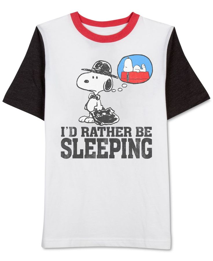 Jem Sleeping Snoopy T-Shirt