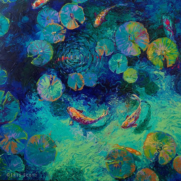 Les Peintures à l'Huile au doigt par Iris Scott (1)