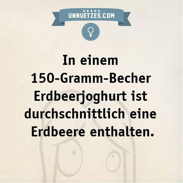 Die Mindestmenge liegt sogar nur bei: http://www.unnuetzes.com/wissen/9109/erdbeerjoghurt/