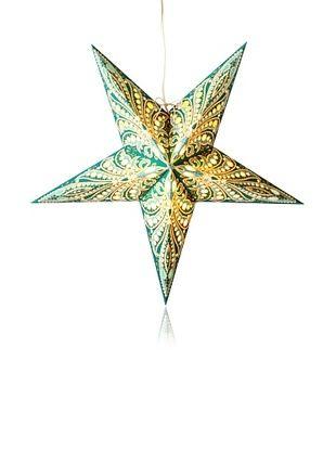 34% OFF Starlightz Queen Paper Light, Fiji Turquoise