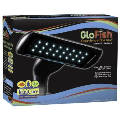 AQUATICS - BULBS: LED - GLOFISH UNIVERSAL AQUARIUM LIGHT - BLUE LED - UPG-MARINELAND EDWARDSVILLE - UPC: 46798290469 - DEPT: AQUATIC PRODUCTS