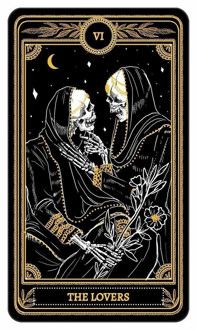 tarot amour 1 carte