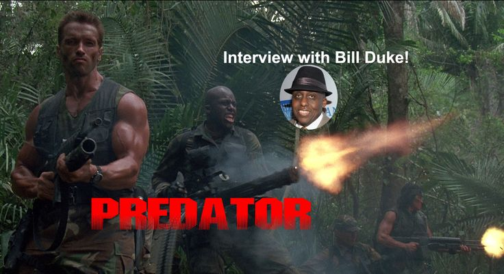 "The Shut Up Kids podcast  interviewed Bill Duke about his role in the action classic ""Predator""! Wonderful Behind-the-scenes stories!"
