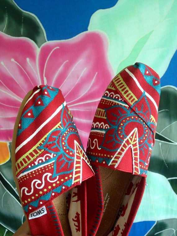 painted Toms. Local art