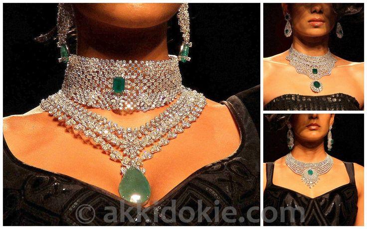 Modern wedding jewellery