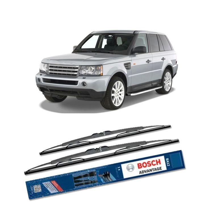"""Bosch Sepasang Wiper Kaca Mobil Range Rover Sport LS (2005-2009) Advantage 22"""" & 21"""" - 2 Buah/Set  Umur Pakai & Daya Tahan Lebih Lama Penyapuan kaca yang senyap Performa Sapuan Optimal Instalasi Mudah & Cepat Original Produk Bosch Ukuran 22"""" dan 21""""  http://klikonderdil.com/with-frame/461-bosch-sepasang-wiper-kaca-mobil-range-rover-sport-ls-2005-2009-advantage-22-21-2-buahset.html  #bosch #wiper #jualwiper #rangerover"""
