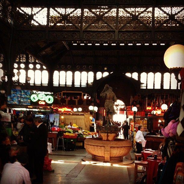 Mercado Central en Santiago de Chile, Metropolitana de Santiago de Chile