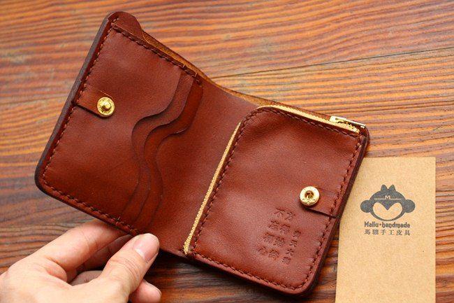 Обезьяна Рука × короткий бумажник / вертикальный вариант карман на молнии…