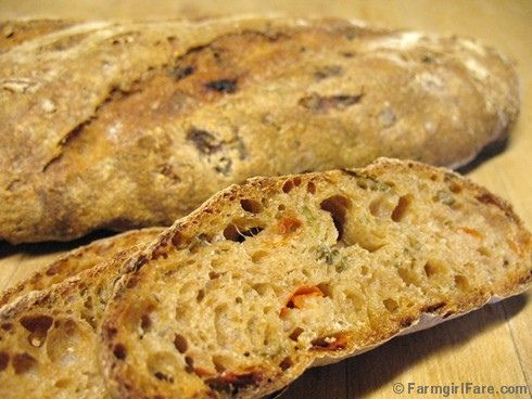 sourdough bread bread recipes freshly baked artisan bread tomato basil ...