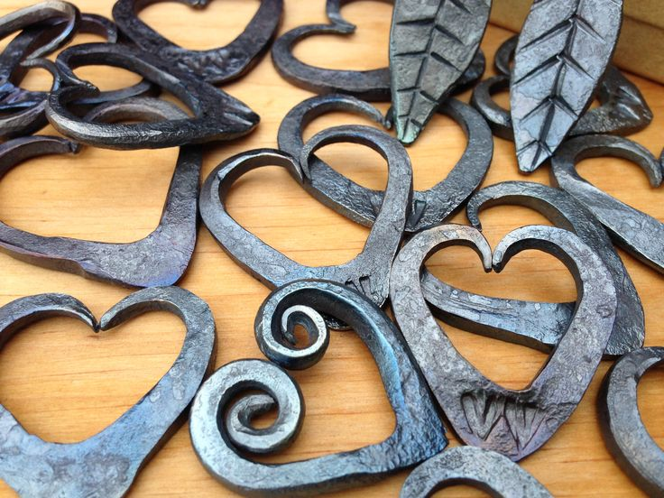 Handmade pendants. From my forge.