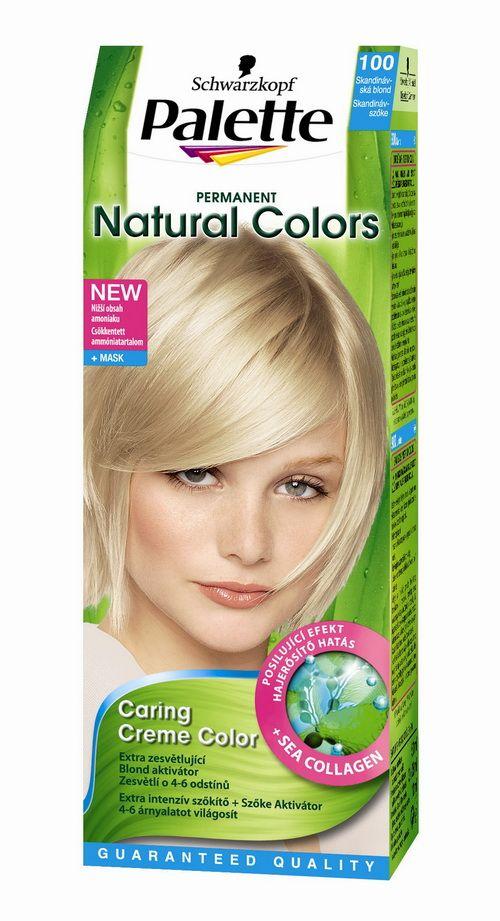 Palette Natural Colors Hajfesték
