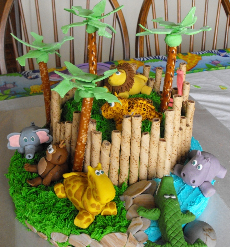 Best 25+ Zoo Cake Ideas On Pinterest