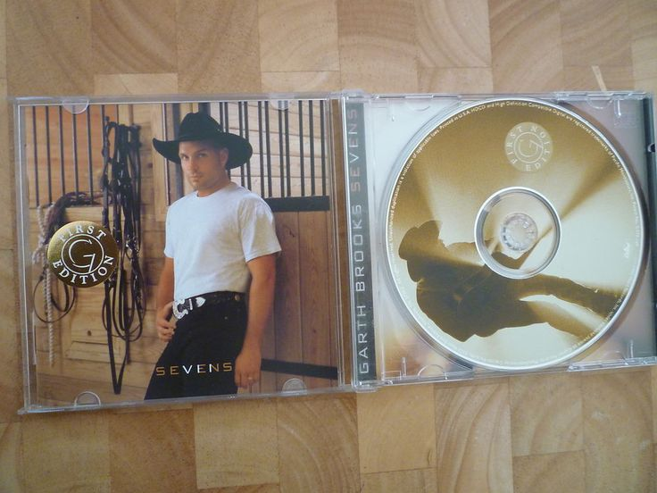 GARTH BROOKS SEVENS CD ALBUM EXC