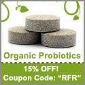 Organic Probiotic Tablets