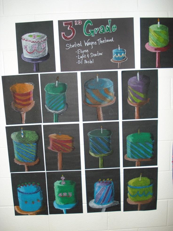 Wayne Thiebaud | Elementary Art Projects