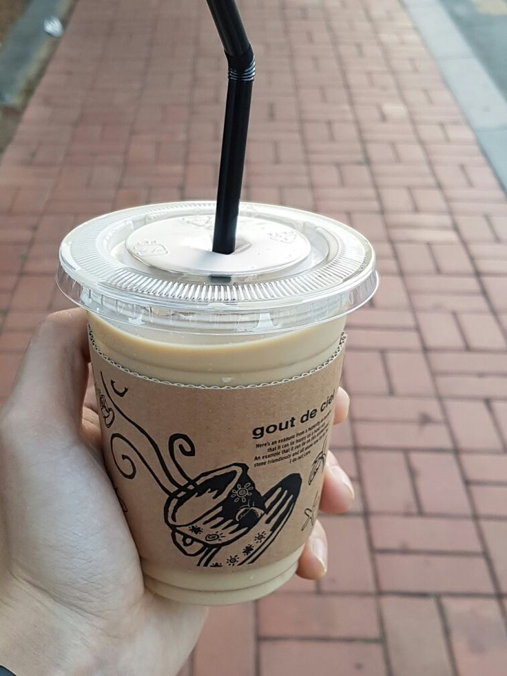 카페라떼 @커피콩