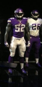 Minnesota Vikings new uniforms for 2013, leaked photos confirmed