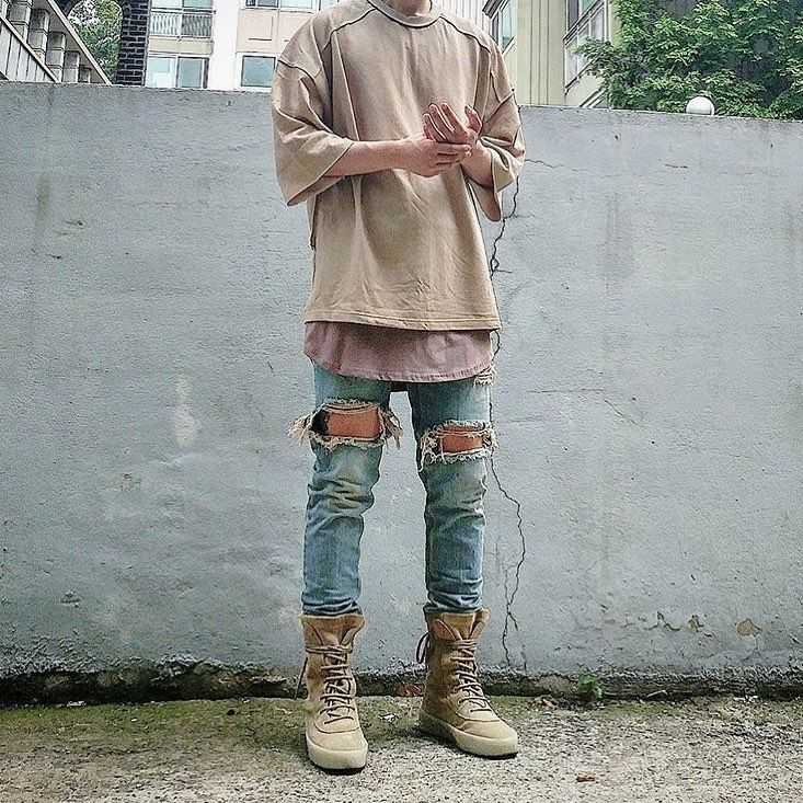 #YEEZY SEASON 2 CREPE BOOTS!! _____________________ Dope Outfit Shot Courtesy of @about.chu ...