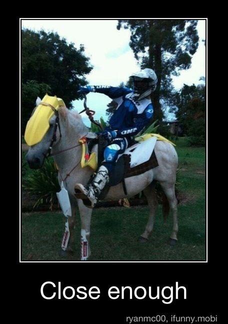 Motocross at its finest #humor #motocross