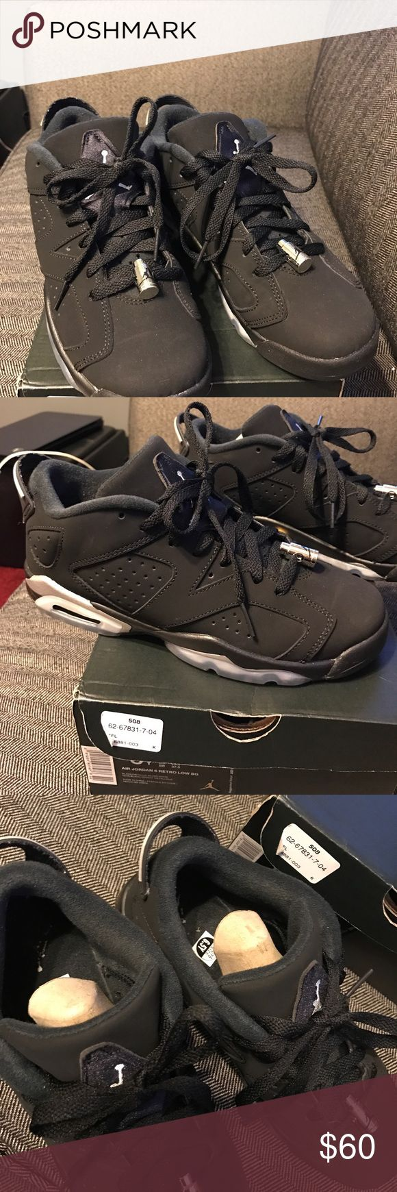 Retro 6 Jordan Low Excellent condition! Size 6.5 box and receipt included. Nike Shoes Athletic Shoes