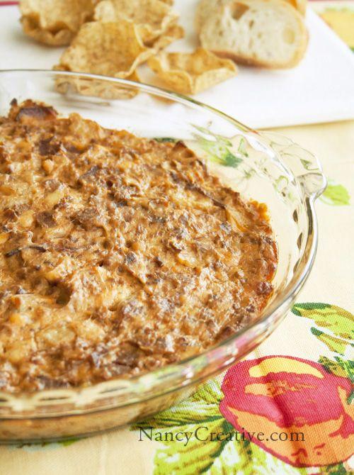 Bacon Double Cheeseburger Dip Recipe ~ Delish... you can also top the ...