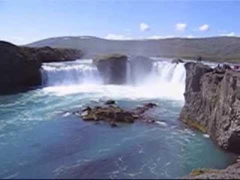 Godafoss waterfalls & Mt Námafjall, July 2007, Iceland #ToniJackman #islanti