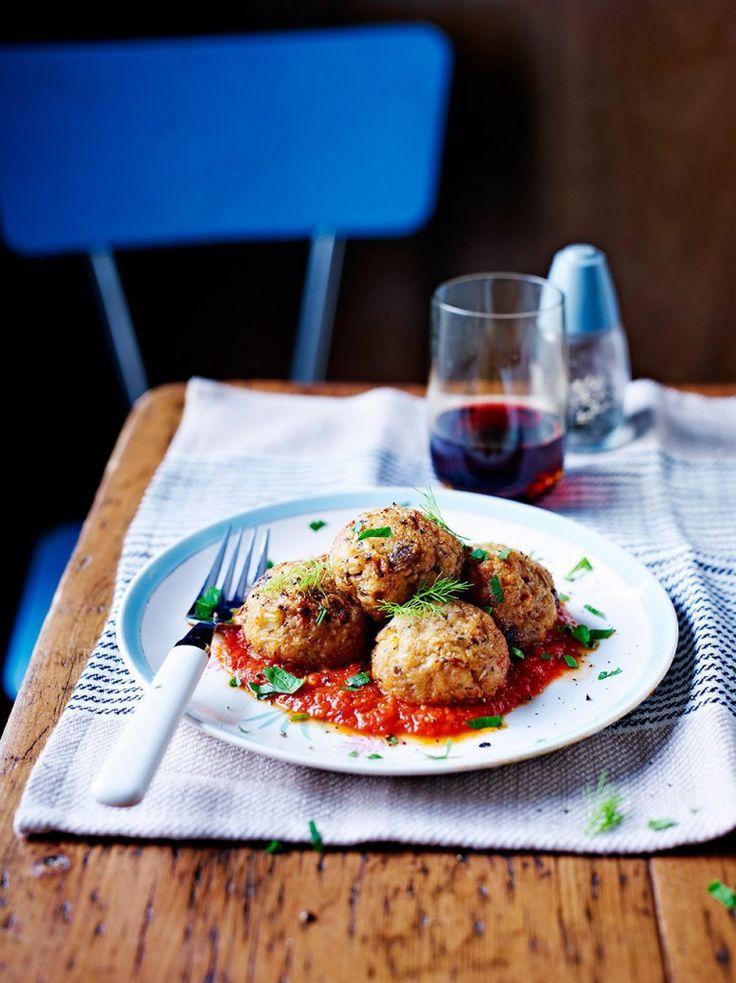 Roasted Fennel & Pine Nut Polpette   Vegetable Recipes   Jamie Oliver