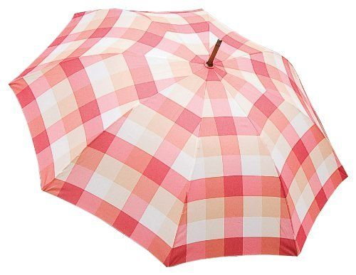 Laura Ashley 3A074751 Check Umbrella, Mitford Check Brick by Laura Ashley. $24.99. Wind resistant frame. Automatic opening and closing. Exclusive Laura Ashley designs and style by Laura Ashley Garden. Modern check design umbrella. Size: 25-inch. Modern check design umbrella. Automatic opening and wind resistant frame. Size: 25in. Laura Ashley, the quintessential English brand, came from humble beginnings as Laura Ashley and her husband Bernard began printing headscarves and ot...