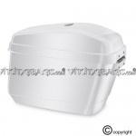 Viking Lamellar Large White Hard Saddlebags.- $119