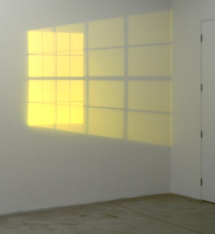 Yellow double hung window - Artwork • Studio Olafur Eliasson