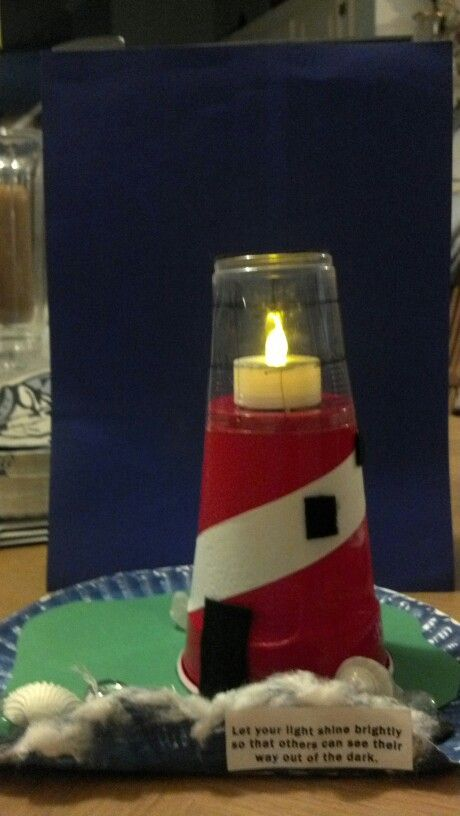 Light house craft for day camp!