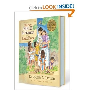 The New Bible in Pictures for Little Eyes - Bible we use with LHTH