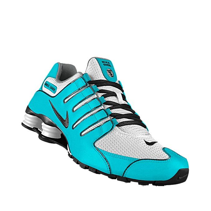 c76d1351f87fcf ... VI iD Womens Running Shoe just arrived. Love custom nike shox men Daisy  Wedgwood on custom nike shox id ...