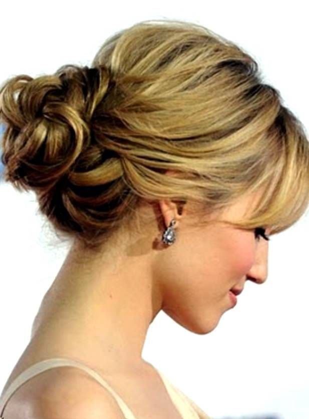 Image result for mother of the bride hairstyles bangs up do